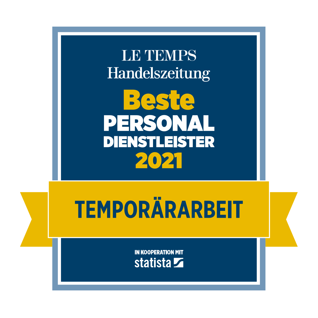 Temporärarbeit 2021