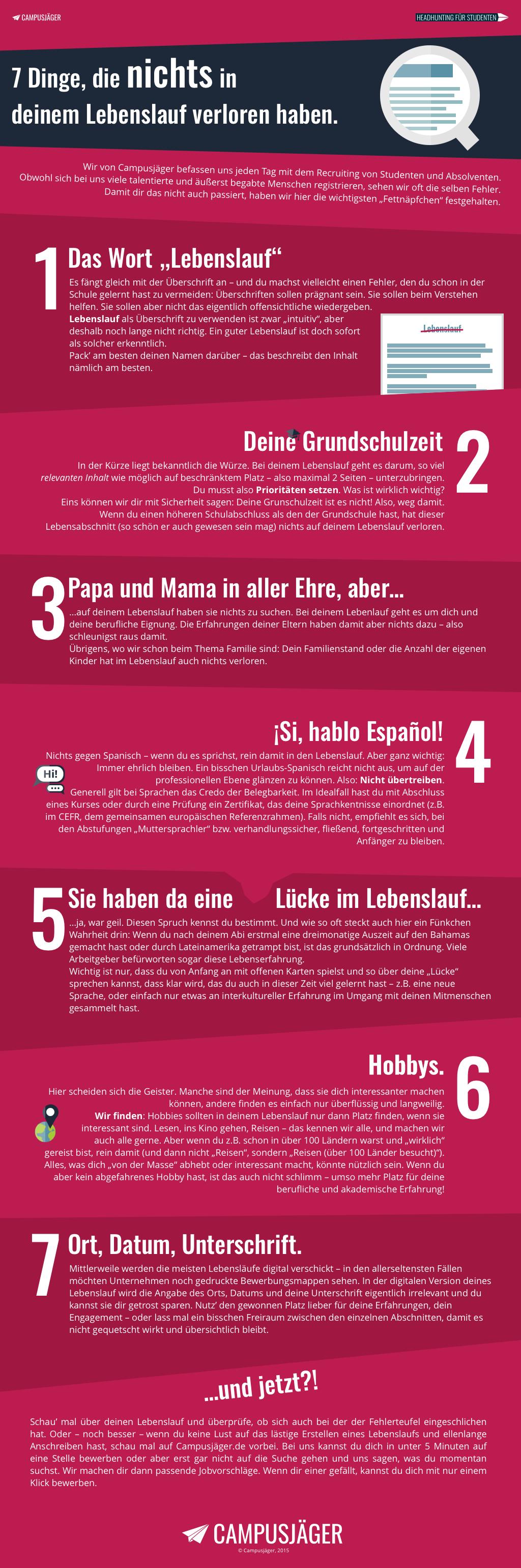 Sieben Dinge, elita