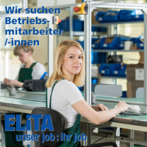 Elita.ch - Betriebsmiterabeiter/-innen gesucht